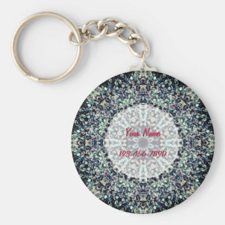 Porte-clés Mandala de cailloux