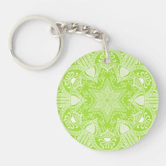 Porte-clés Mandala de chaux