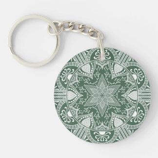 Porte-clés Mandala de forêt