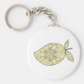 Porte-clés Mandala juteux de fruit de mangue