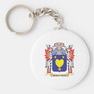 Porte-clés Manteau de Di-Battista des bras - crête de famille
