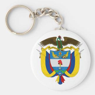 Porte-clés Manteau de la Colombie de porte - clé de bras