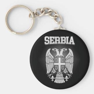 Porte-clés Manteau de la Serbie des bras