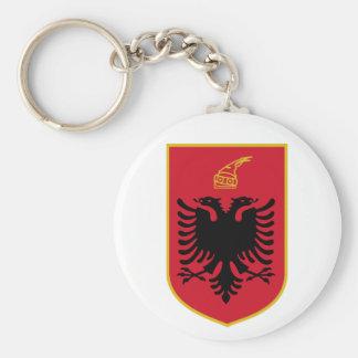 Porte-clés Manteau de l'Albanie de porte - clé de bras