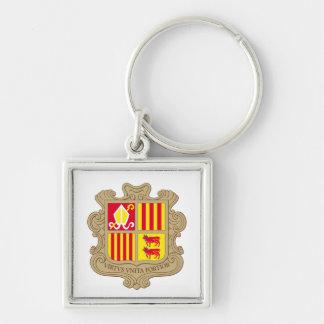 Porte-clés Manteau de l'Andorre de porte - clé de bras
