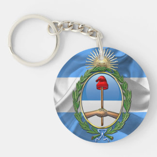 Porte-clés Manteau de l'Argentine des bras