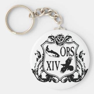 Porte-clés Manteau de retraite d'ORS des bras 2014