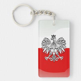 Porte-clés Manteau des bras polonais