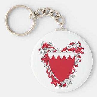 Porte-clés Manteau du Bahrain de porte - clé de bras