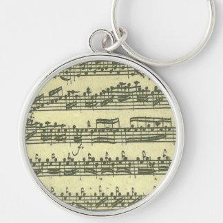 Porte-clés Manuscrit de musique de Bach Partita