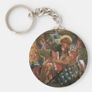 Porte-clés Mariage de St George, princesse Sabra par Rossetti