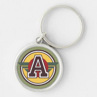 Porte-clés Marquez avec des lettres une initiale