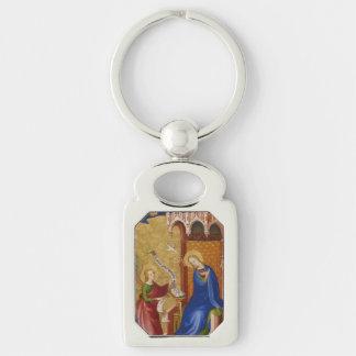 Porte-clés Mary et ange d'annonce