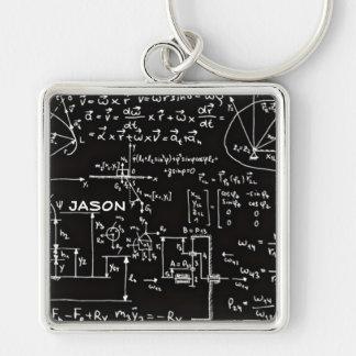 Porte-clés Mathématiques Geeky de maths personnalisées