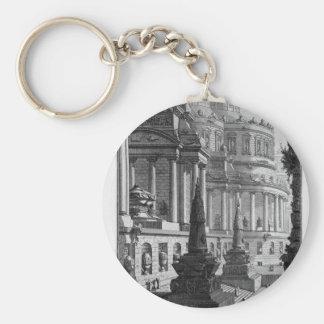 Porte-clés Mausolée antique érigé aux cendres d'un romain