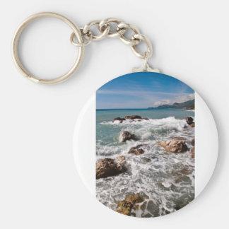 Porte-clés Meditative force de la mer - île Sicile