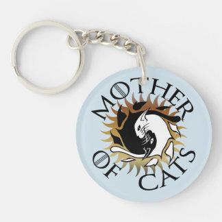 Porte-clés Mère de porte - clé de chats