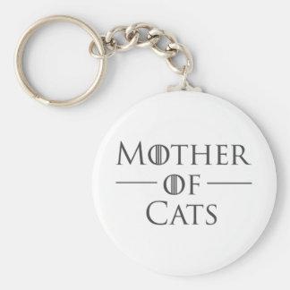 Porte-clés Mère des chats