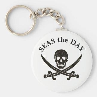 Porte-clés Mers le porte - clé de pirate de jour