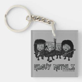 Porte-clés Métaux lourds