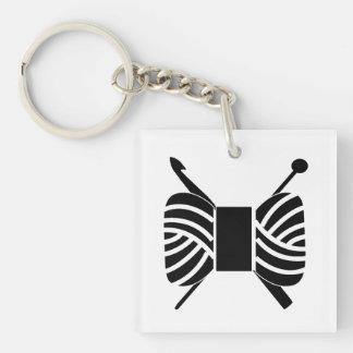Porte-clés Métiers de crochet de Knit d'écheveau de fil