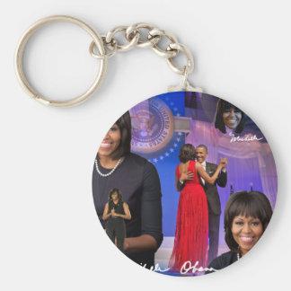 Porte-clés Michelle Obama