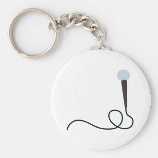 Porte-clés Microphone