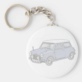 Porte-clés Mini Cooper Cru-a coloré