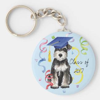 Porte-clés Mini diplômé de Schnauzer