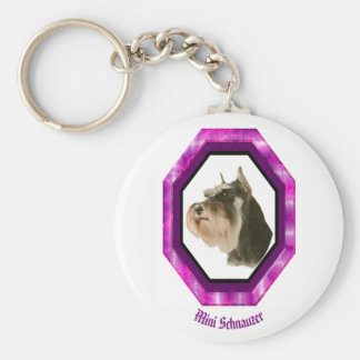Porte-clés Mini porte - clé de Schnauzer