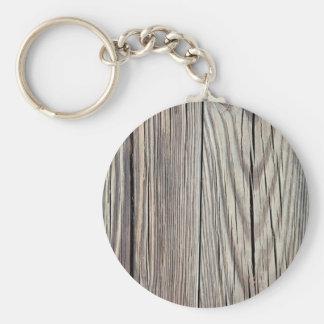 Porte-clés Modèle en bois patiné d'arrière - plan de grain de