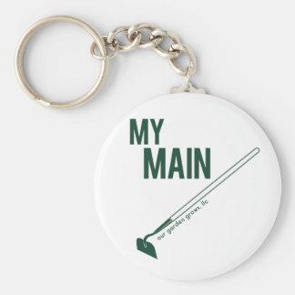Porte-clés Mon porte - clé principal de houe