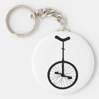Porte-clés Monocycle noir