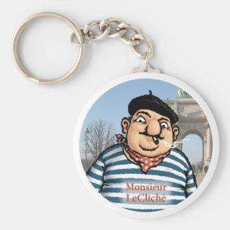 Porte-clés Monsieur LeCliché Keychain