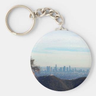 Porte-clés Montagne encadrée par LA