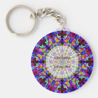 Porte-clés Mosaïque colorée