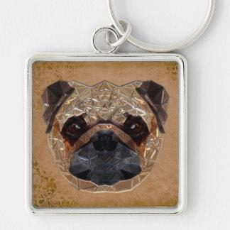 Porte-clés Mosaïque de chien