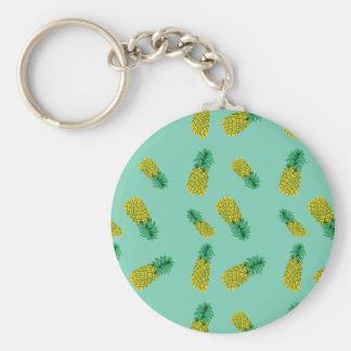 Porte-clés Motif d'ananas sur le porte - clé