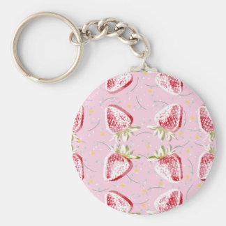 Porte-clés Motif de fiesta de fraises