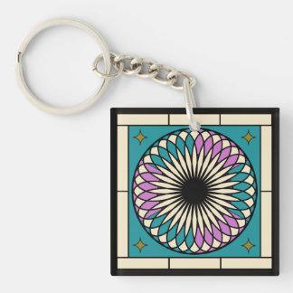 Porte-clés Motif en spirale marocain
