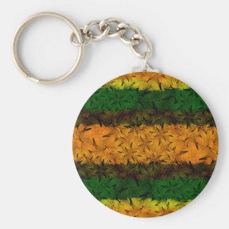 Porte-clés Motif floral tribal