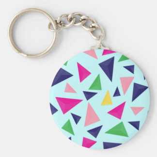 Porte-clés Motif géométrique coloré II