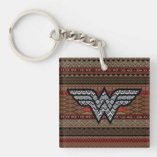 Porte-clés Motif tribal de femme de merveille