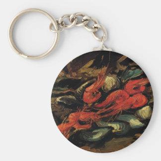 Porte-clés Moules et crevette toujours de la vie par Vincent