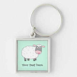 Porte-clés Moutons de marguerite