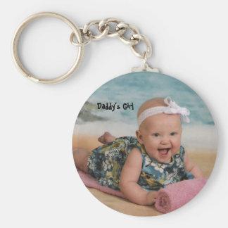 Porte-clés mthsSingle de la plage 6 de lis, la fille du papa