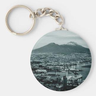 Porte-clés Naples le Vésuve