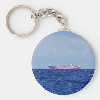 Porte-clés Navire porte-conteneurs rouge