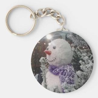 Porte-clés Noël de Woolwich - homme de neige