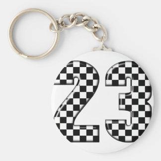 Porte-clés nombre de l'emballage 23 automatique